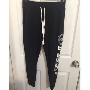 Like new Victoria's Secret PINK joggers size small